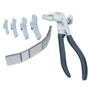 Counter weight counter plier