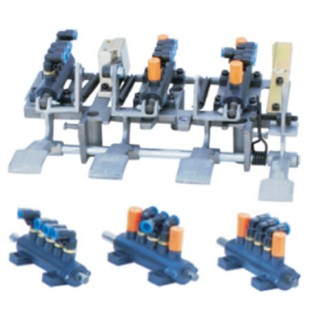 Complete pedal, complete five way value